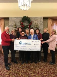 Cheque Presentation to Headwaters Health Care Foundation